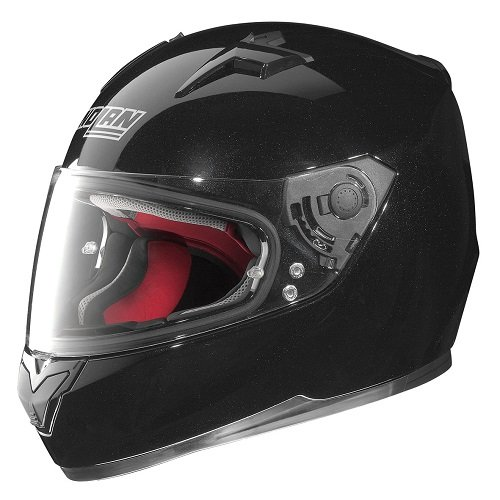 Casco moto integrale Nolan N64 Smart nero lucido M