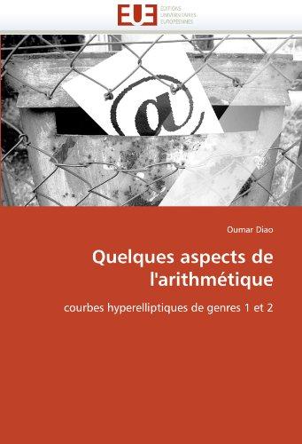 Quelques aspects de l'arithmétique par Oumar Diao