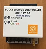 Bruhat Energy Solar Charge Controller (12V, 5A) - Dusk To Dawn