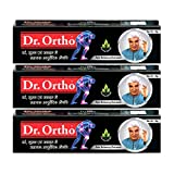 #4: Dr Ortho Ayurvedic Pain Relieving Ointment - 30 g (Pack of 3)