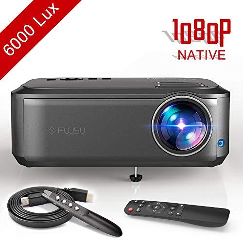 Beamer, Video Projektor 1080P Full HD Native