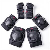 Baytter® Protectorenset Schutzausrüstung Set Kniepolster Ellbogenpolster Handgelenkpolster für Kinder und Erwachsene Knie Ellbogen Handgelenk Schützer