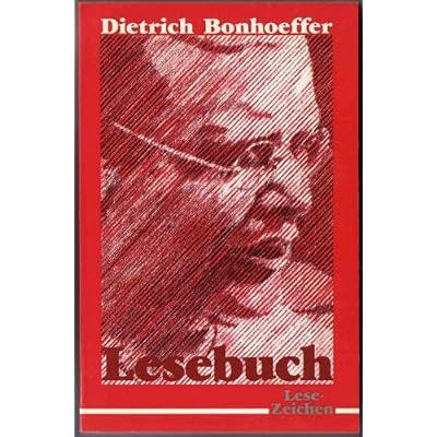 Dietrich Bonhoeffer Lesebuch Pdf Online Eugeneharland