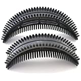 GEOOT Bumpits Cele-up Hair Bump Comb Brunette Hair Professional Hair Clip Hair Accessories (L+S)
