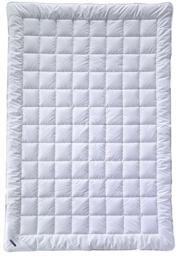 Billerbeck Bambusdecke Jasmin Superlight - Sommerdecke 135 x 200 cm (Bambus-bettdecke)
