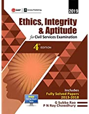 ETHICS INTEGRITY & APTITUDE FOR CIVIL SERVICES EXAMINATION