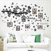 Walplus Pared Pegatinas de Ohana Familia árbol Adhesivo extraíble de Pared Arte murales dodoskinz guardería Kindergarden