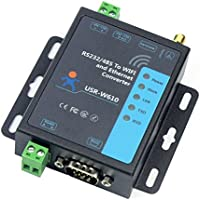 BGNing USR-W610 Serial a WiFi Convertidor inalámbrico Ethernet RS232 RS485 Serial Server Support WatchDog Modbus Gateway TCP UDP