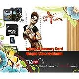 Micro SD / SDHC Speicherkarte für Kameras und Handys, 2 / 4 / 8GB, Schwarz 8 GB schwarz