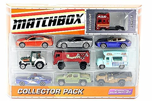 matchbox-car-10-pk-collector-cars-medevial-classic-police-by-matchbox