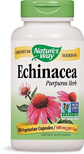 Nature's Way Extraits d'échinacée bio - 180 capsules