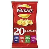 Walkers Variety Crisps, 25 g, Pack of 20