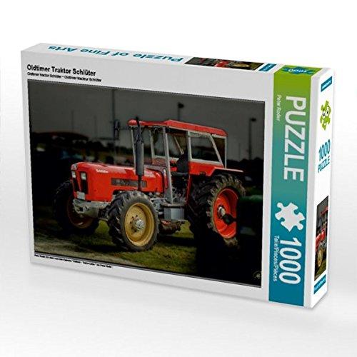 Oldtimer Traktor Schlüter 1000 Teile Puzzle quer (Lkw-puzzle)