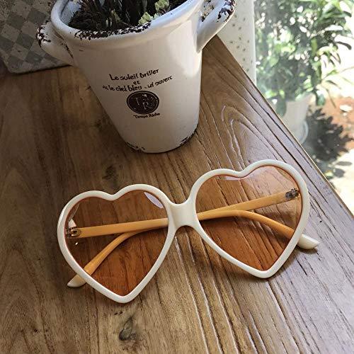 BHLTG Sonnenbrille-weibliches rundes Gesicht war dünne Hippie-Sonnenbrille-Art- und Weisemarinegelee-Tabletten süßes nettes Sunglasses-3