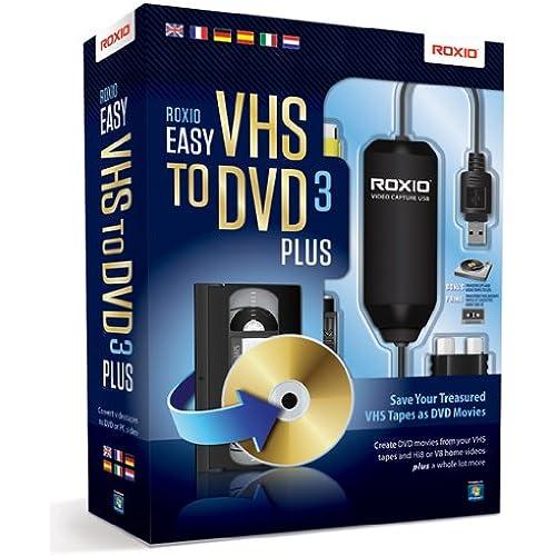 Corel Roxio Easy VHS to DVD 3 Plus scheda di acquisizione video USB 2.0