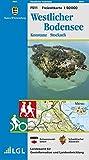 Freizeitkarten Baden-Württemberg 1:50000, F 511:  Westlicher Bodensee, Konstanz, Stockach - Wanderwege, Radwege (Freizeitkarten 1:50000)