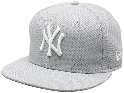 New Era Herren Cap MLB Diamond New York Yankees storm gray/Optic white