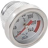 Spec-X Öltemperatur-Direktmesser HH 38 Yamaha XV & XS silber Motorrad