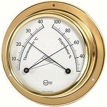 Technik & Instrumente Ordentlich Barigo Maritim Wetterstation Analog Regatta Baro Thermo Hygro Chrom