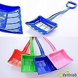 Schneeschaufel Schneeschieber Schneeschippe für Kinder 4 Farbe (Blau)