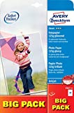 Avery Dennison Classic / 2567-75 Papier photo pour impression jet d'encre A4 / 125g Brillant 75 feuilles (Import Allemagne)