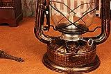 Petroleumlampe Laternen Beleuchtung Außenbeleuchtung Hotel Hotel Bauernhaus Dekoration mit alten Bronze Kerosin Lampe Alte Öllampe Vintage Laterne Retro Nostalgische Lampe 1 Stück