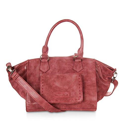 Fritzi aus Preußen Jaana Vintage Handtasche 43 cm inka red