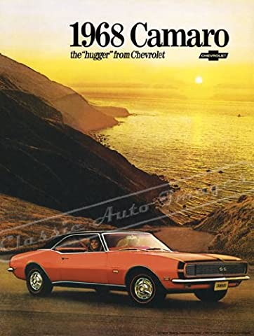 Classic and Muscle Car Ads and Car Art 1968 Chevrolet