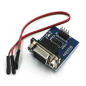 Solu Convertisseur Série RS232 Vers TTL COM Planche MAX3232 puce MAX3232 avec Câble// RS232 Convertisseur Port vers TTL Câble avec connecteur DB9