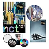 NCT 127 4th Mini Album - NCT # 127 [ WE ARE SUPERHUMAN ] CD + Booklet + Photocard + Circle Card + 2 OFFICIAL POSTER + FREE GIFT
