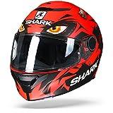 Shark Casco Integrale Spartan Replica Lorenzo Austrian GP Rosso Nero rkr opaco Taglia XS