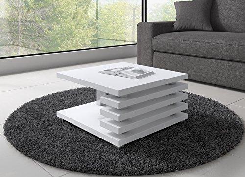 Tavolino Da Caffè Tavolino Da Salotto Tavolo Oslo 60 x 60 CM Opaco ...
