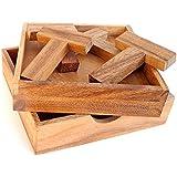 Logica Giochi art. 4T PUZZLE - 5 PUZZLES EN 1 - Puzzle inteligente de madera
