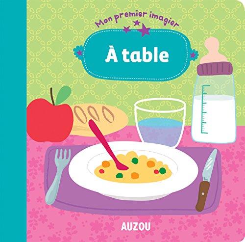 Mon premier Imagier - A table
