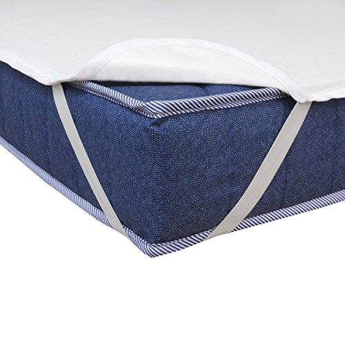 Matratzenschoner Wasserdicht Atmungsaktiv Moderno® Special Molton Betteinlage Inkontinenz mit 4 Übereckgummis in (Breite x Länge) 140x200cm