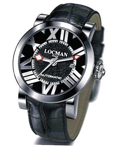 Locman 029000BKNNKCPSK Montre à bracelet pour homme