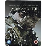 Blu-ray American Sniper GB 2015 Clint Eastwood Exclusivité Ultra Limitée SteelBook