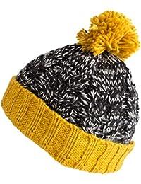 2645db8a4bb Amazon.co.uk  Yellow - Skullies   Beanies   Hats   Caps  Clothing