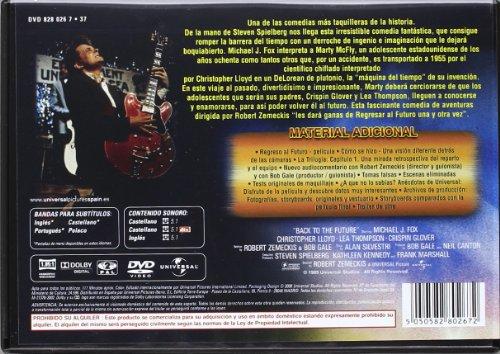 DVD Regreso Al Futuro