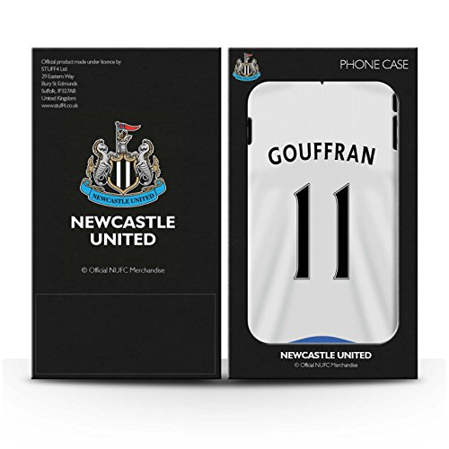 Officiel Newcastle United FC Coque / Etui pour Apple iPhone 7 / Sissoko Design / NUFC Maillot Domicile 15/16 Collection Gouffran