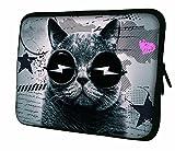 """Luxburg 7.9"""" pouces Housse Sacoche Pochette pour ordinateur portable / tablet / iPad Mini - Rave Chat"""
