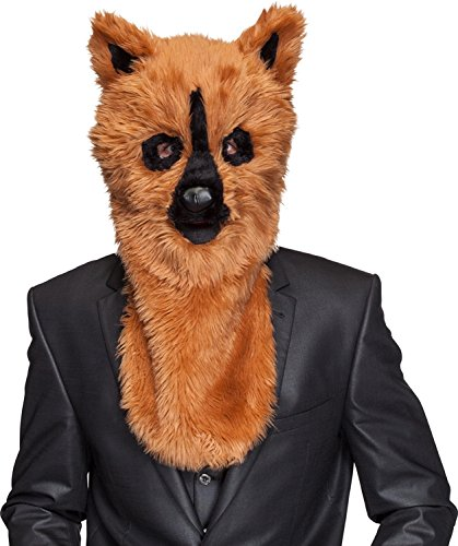 �sch Maske Bär zu Karneval Fasching Halloween Party (Bär Plüsch Maske)