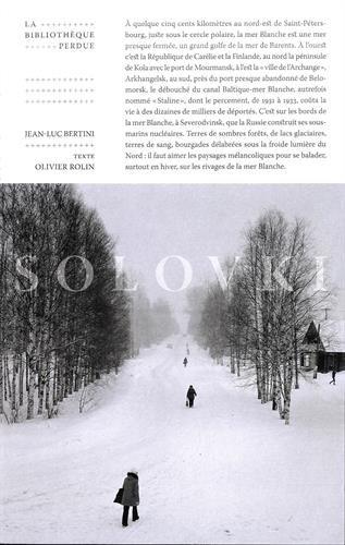 Solovki : La bibliothèque disparue