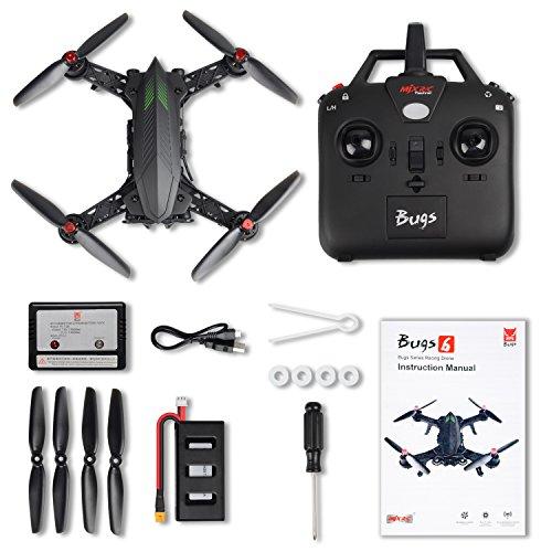 MJX B6 Bugs6 Drone Smart Transmitter Alarmfunktion Quadcopter Unterstützen GoPro Kameras und Sportkameras mit Brushless Motor / High Capacity Battery / Verbessern Propeller von TIME4DEALS - 7