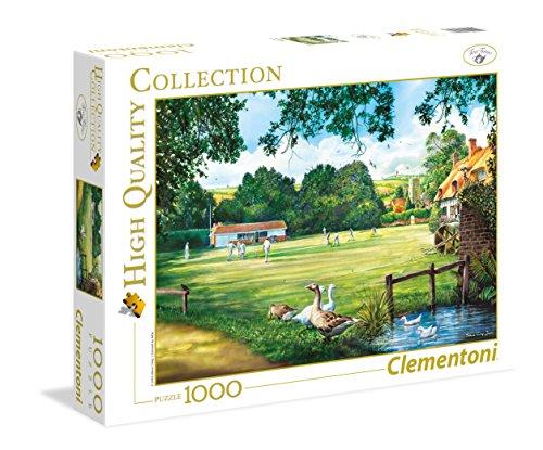 Clementoni-39317-EIN Tag der Cricket-1000Teile-Hohe Qualität Collection