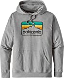 Patagonia Line Logo Badge Lighweight Hoodie feather grey