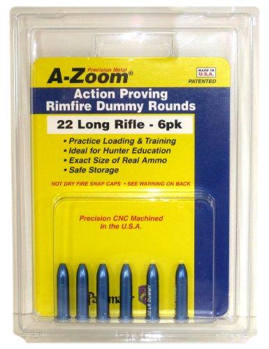 A-Zoom Z12208 Lot de 6 cartouches de manipulation 22 Long Rifle