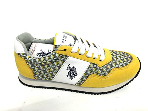 U.S. Polo ASSN. - Shoes - Scarpe Sportive basse in tessuto Jeans, American All Star Unisex