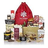 Favoritos festivos - Un delicioso regalo de Navidad gourmet - Cestas de alimentos y vino para Navidad