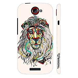 HTC ONE S Sporty Lion designer mobile hard shell case by Enthopia